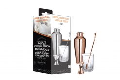 Copper Shaker Mixer Set