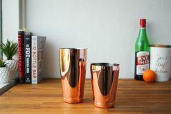 Copper Hikari Cocktail Shakers