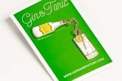 Gin Tonic Cocktail Pin
